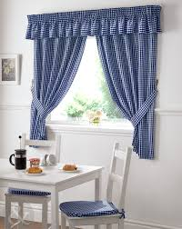 Red Kitchen Curtain Sets Gingham Check Kitchen Curtains Ready Made Pencil Pleat Net Curtain