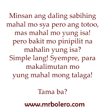Quotes About Time Interesting Two Timer Sad Tagalog Love Quotes