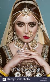 Asian bridal costume jewellery