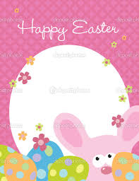 easter flyer template stock vector copy wetnose  8 5x11 easter flyer template vector by wetnose