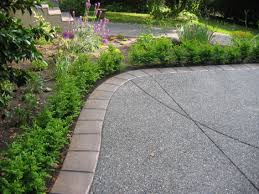 Concrete Path Designs Exposed Aggregate And Concrete Idea For Patio Making The