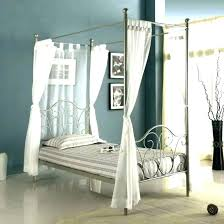 Bamboo Four Poster Bed Canopy Made To Order 4 – Templates House ...