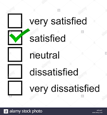 A Satisfied Client Response Opinion Questionnaire Survey