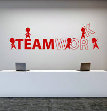 wall decal for office. Interesting Office Vinyl Wall Decal Office Worker Style Teamwork Cartoon People Stickers  Unique Gift 1757ig Throughout For U