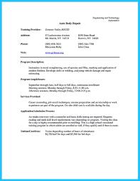 Writing A Concise Auto Technician Resume