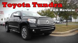2017 Toyota Tundra: Full Review | SR, SR5, Limited, Platinum ...
