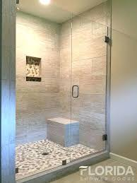 shower glass panel cost half wall