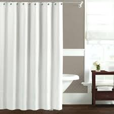 hookless shower curtain extra long white curtain ideas