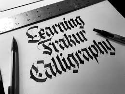 Stroke Charts Calligraphy Fraktur Calligraphy Guide For Beginners 2019 Lettering Daily