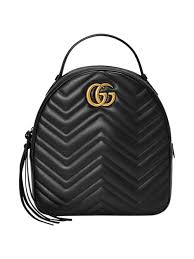 Gucci РGG Marmont Quilted Leather Backpack | Kirna Zab̻te & Gucci - GG Marmont Quilted Leather Backpack | Kirna Zab̻te Adamdwight.com