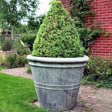 ... Planters, Extra Large Planters Cheap Large Commercial Fiberglass  Planters White Colour Terrazo Farm Backyard: ...