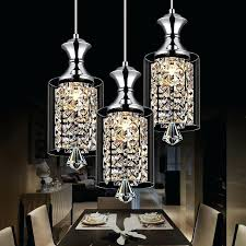 crystal lights chandelier modern pendant chandelier led crystal pendant lamp three head disc tray and rectangular