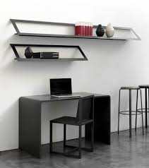 office floating shelves. Attractive Wall Decorating Design With Wooden Floating Shelves Office I