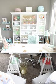 craft room office reveal bydawnnicolecom. 10 More Swoon-Worthy Craft Rooms Room Office Reveal Bydawnnicolecom 2