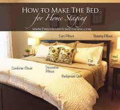 bedroom staging. How To Make The Bed For Home Staging Bedroom