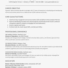 Educational Experience Resume Sample Resume For An Educational Director Of Operations