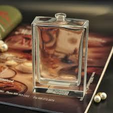 Decorative Glass Bottles Wholesale Wholesale simple glass perfume bottles home decorative bottles 40