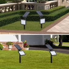48LED Outdoor <b>Waterproof Solar Power</b> Garden Lamp Spotlight ...