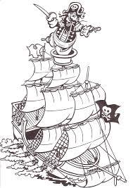 Piraten Kleurplaat 11