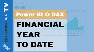 Financial Year Calculating Sales Financial Year To Date In Power Bi With Dax Youtube