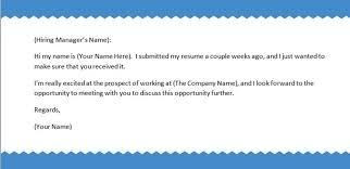 should i follow up after sending a resume local career blog regarding sample  follow up