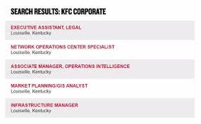 Kfc Job Application & Employment Resources | Job Application Point