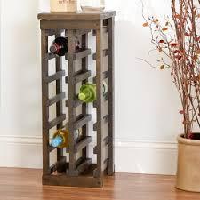 zanuck 12 bottle floor wine bottle rack