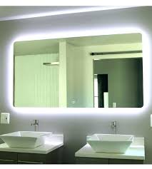 bathroom mirrors with led lights. Mirror With Led Lights Bathroom Mirrors Light Vanity Sink . Stunning Design