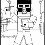 Free printable minecraft coloring pages. Minecraft Coloring Pages