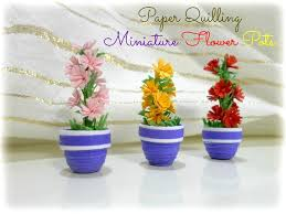 Paper Flower Pots How To Make A Paper Quilling 3d Flower Pot Paper Quilling