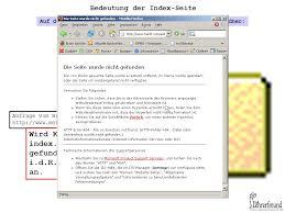 Browser sucht in diesem Ordner nach einer Seite namens - ppt ...