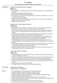 Sample Resume For Structural Engineer Civil Structural Engineer Resume Samples Velvet Jobs 10