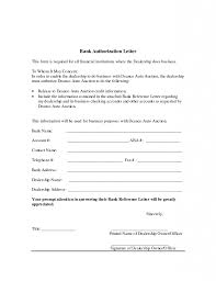 Sample Authorization Letter To Bank Templates With Example