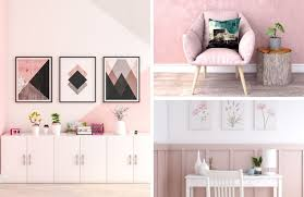 pink wall decor ideas the architects