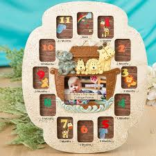 Fashioncraft Noahs Ark Babys First Year Collage Picture Frame