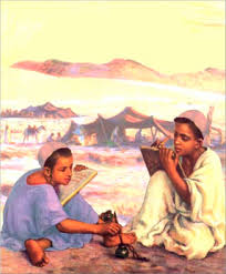 Image result for images of Ishmael and Isaac