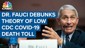 Dr. Fauci debunks theory of low CDC Covid-19 death toll: U.S. has over  183,000 Covid-19 death - YouTube