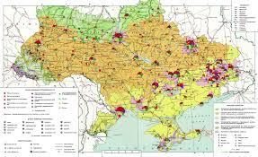 Минерально сырьевые ресурсы Украины Карта полезных ископаемых Украины