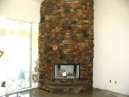 fake rock fireplace best stone pictures painting
