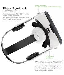 Kính thực tế ảo BOBO VR Z4 kèm tai nghe (Đen Trắng)