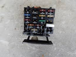 1989 chevy chevrolet celebrity interior fuse box