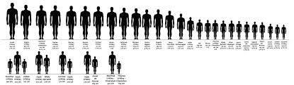 Height Chart With People Iisjahs Blog Oc Height Chart And Comparison By Iisjah I