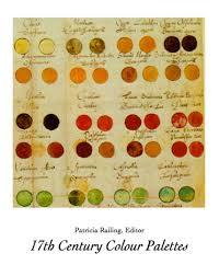 17th Century Colour Palettes Painters Palettes