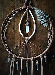 Dream Catcher With Crystals Inspiration love the crystals dreamcatcher Glass Pinterest 2