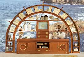 sea themed furniture. 20 Insane And Unusual Furniture Ideas For Living Room With Shocking Themes: Sea Themed