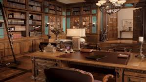 traditional and vintage home office interior design 6 vintage home office2 vintage