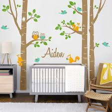 tree wall art decals for nursery on wall art decal nursery with tree wall art decals for nursery andrews living arts tree wall