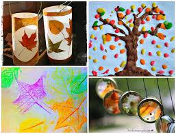 Craft  fun fall leaf art projects