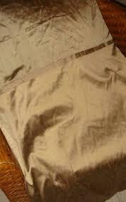 empire silk by peri taupe dupioni silk full queen duvet cover bed bath beyond