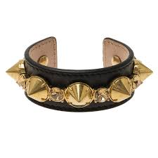 spiked leather cuff bracelet nextprev prevnext